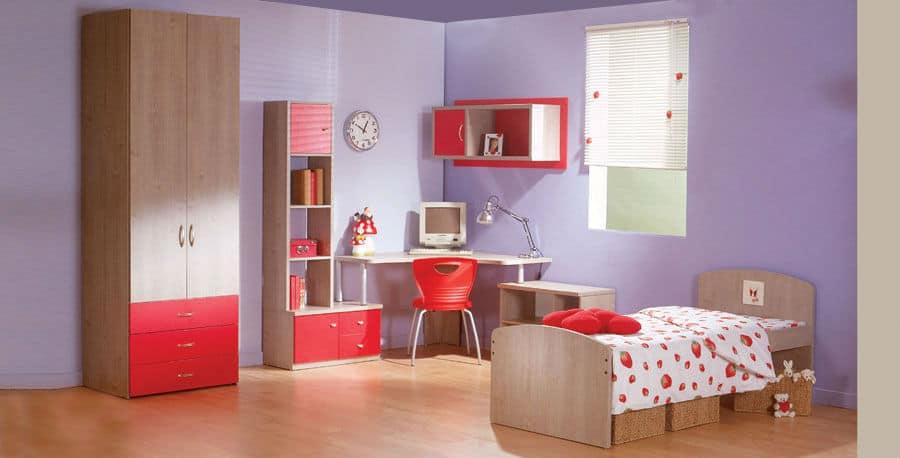 חדר אפי - אדום 5000 - חדר ילדים ונוער