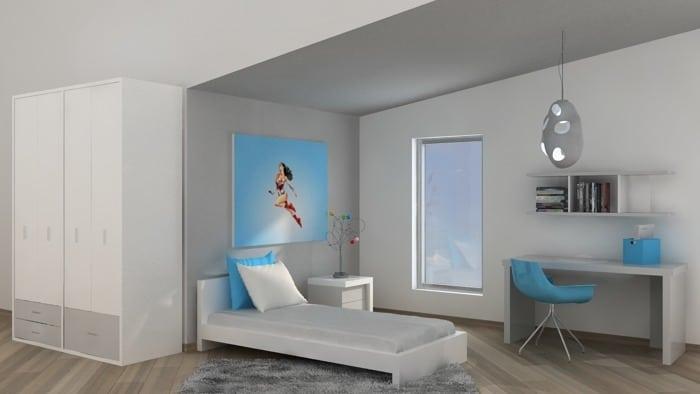 חדר ילדים ונוער גדות - סדרה צבעונית