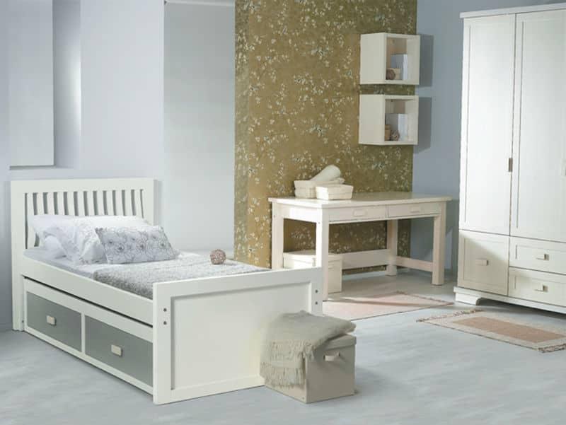 חדר ילדים ונוער גלים - חדר מעץ מלא