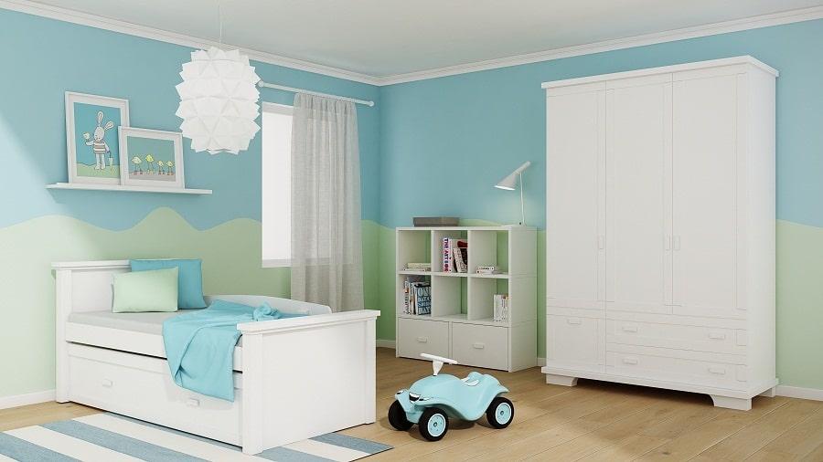 חדרי ילדים ונוער - מיטות ילדים מעץ מלא